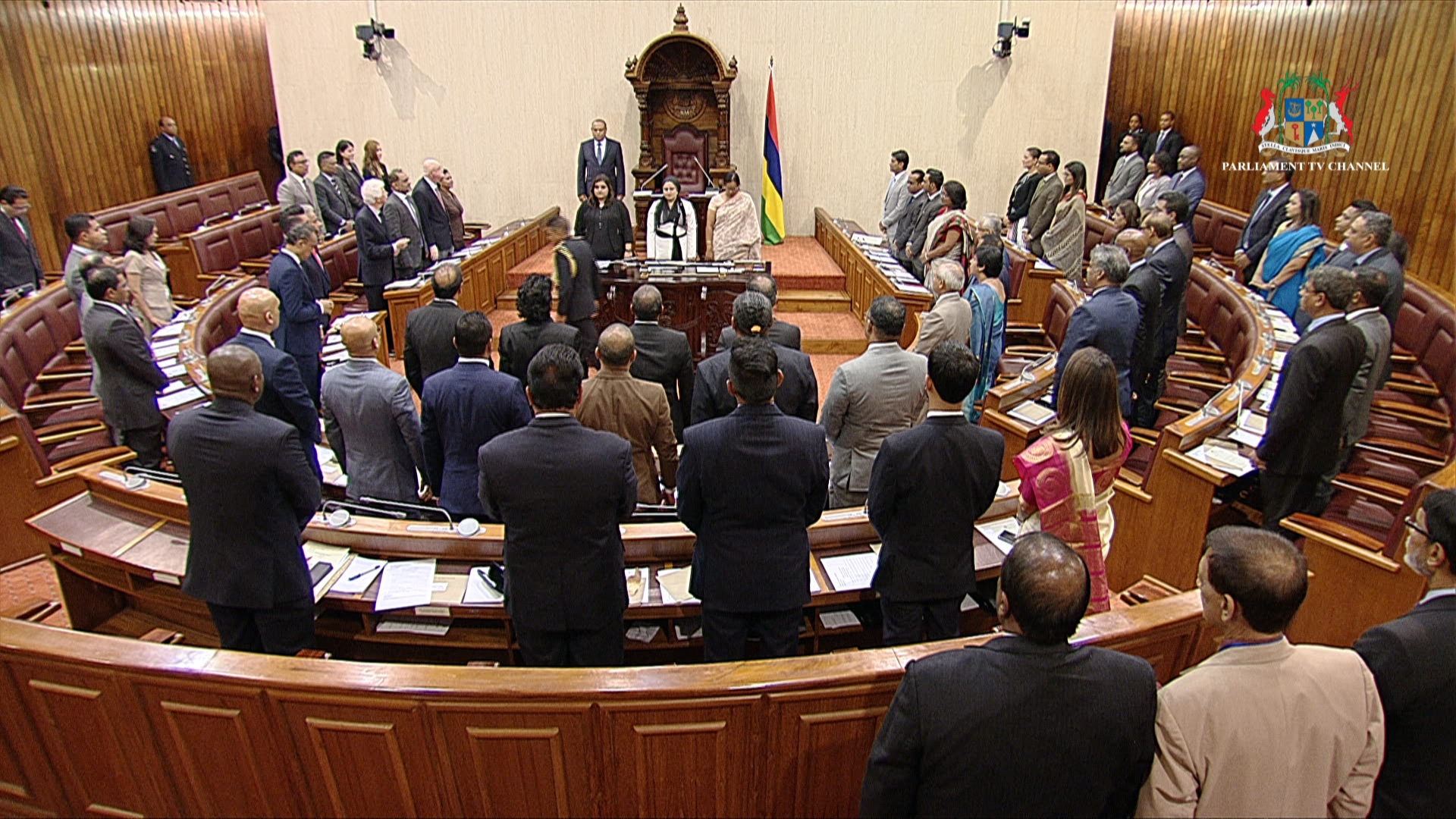 Mauritius National Assembly Chamber