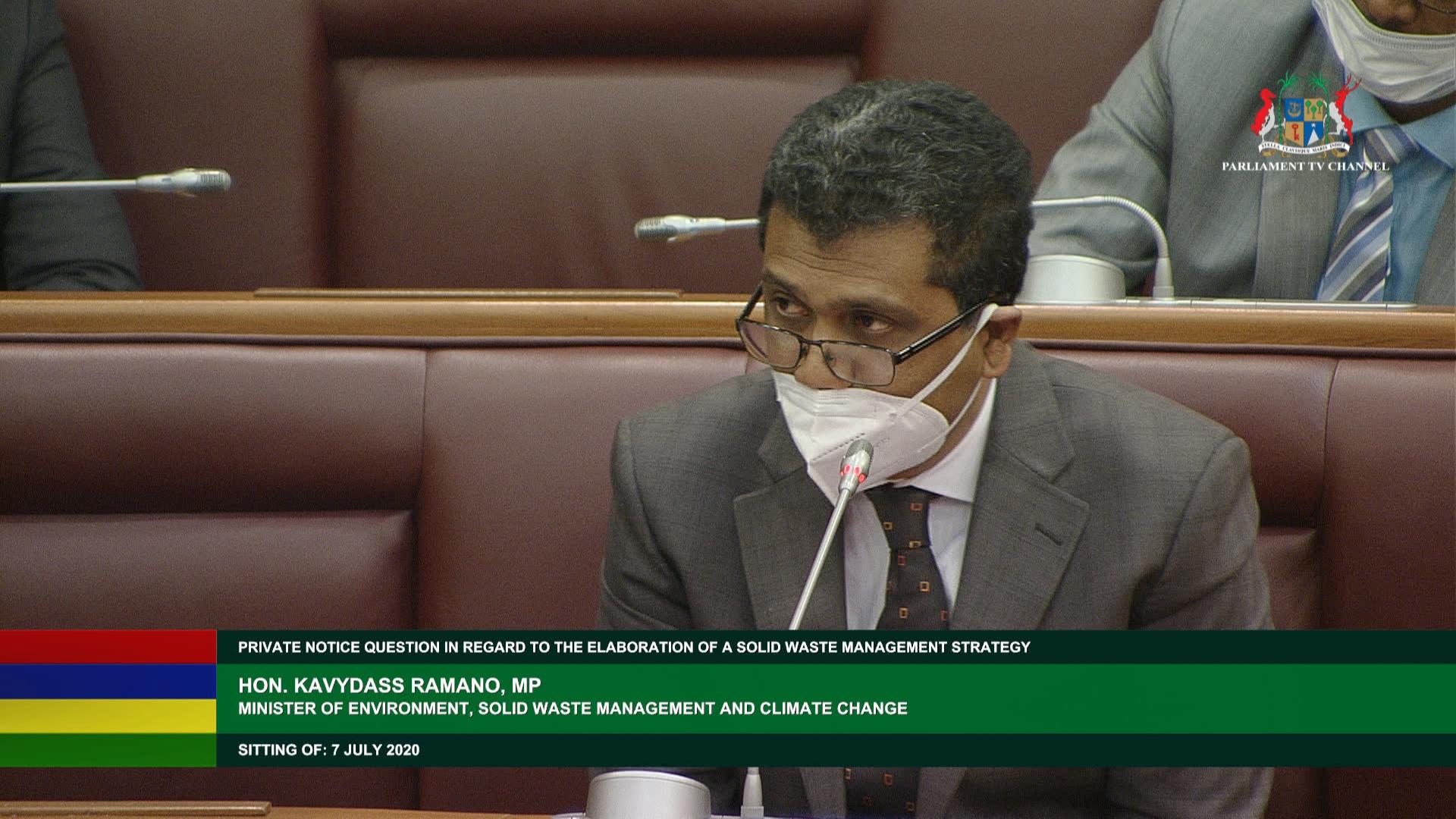 Mauritius National Assembly Chamber